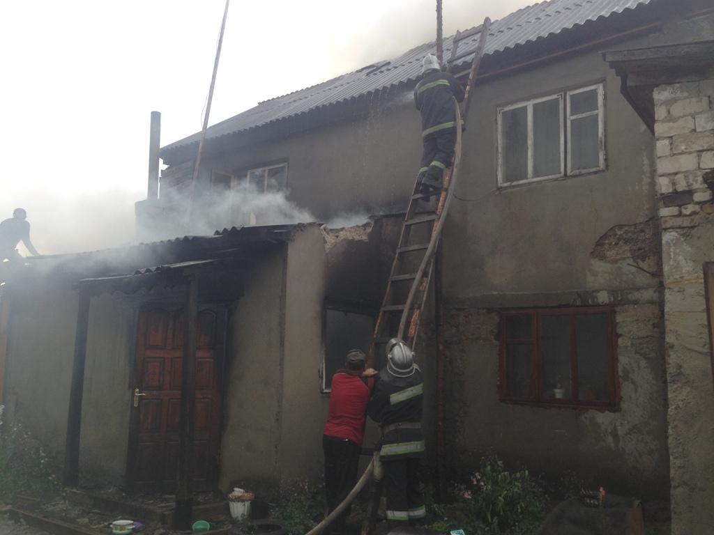 За добу на Волині трапилось дві пожежі
