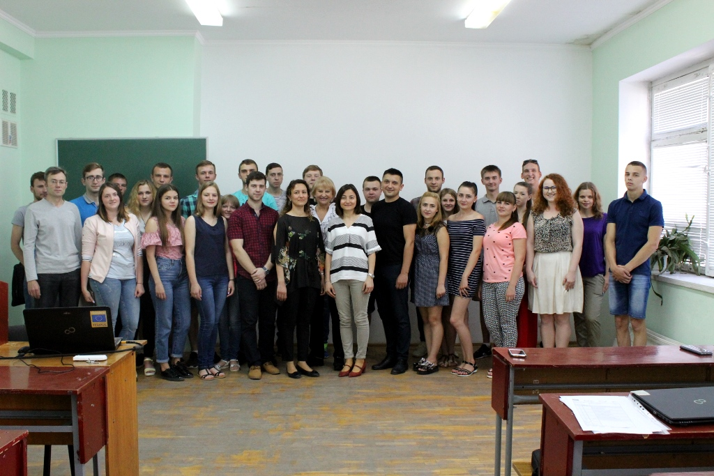 У луцькому виші читали лекції турецькі викладачі. ФОТО