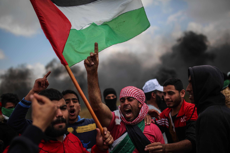Палестинці протестують проти відкриття посольства США в Єрусалимі