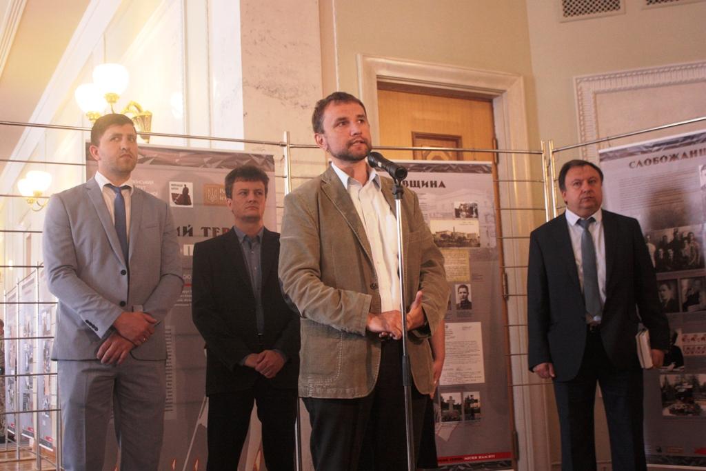 Виставка в парламенті розповідає про розстріл у Луцькій тюрмі. ФОТО