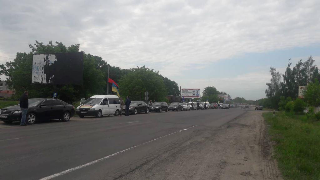 Відбувся автопробіг, присвячений 75-ій річниці Колківської республіки