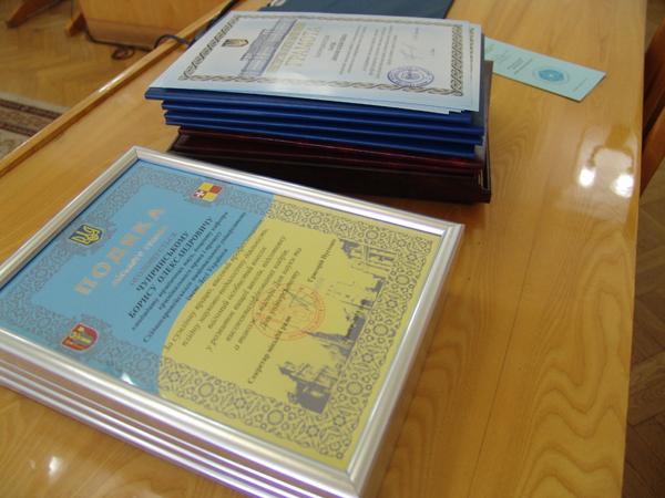 Працівникам Лесиного вишу вручили відзнаки до Дня науки та Дня університету. ФОТО