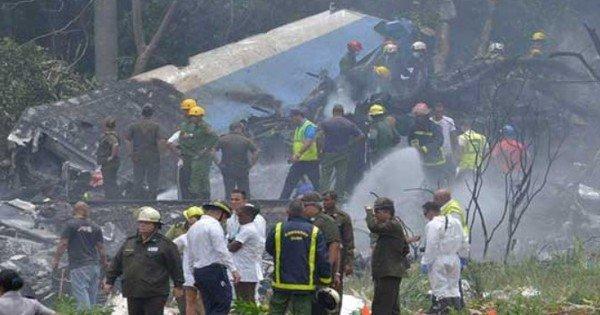 Унаслідок падіння літака на Кубі загинули 113 людей