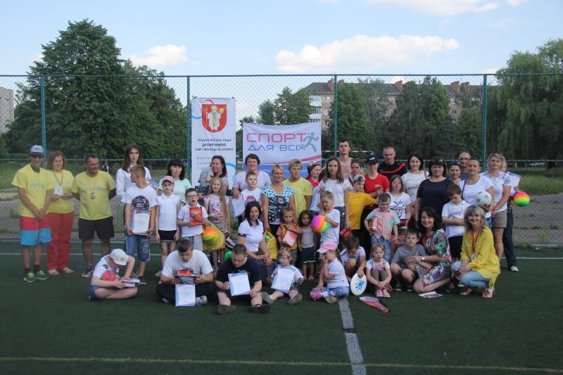 У Луцьку провели свято спорту для «сонячних діток». ФОТО