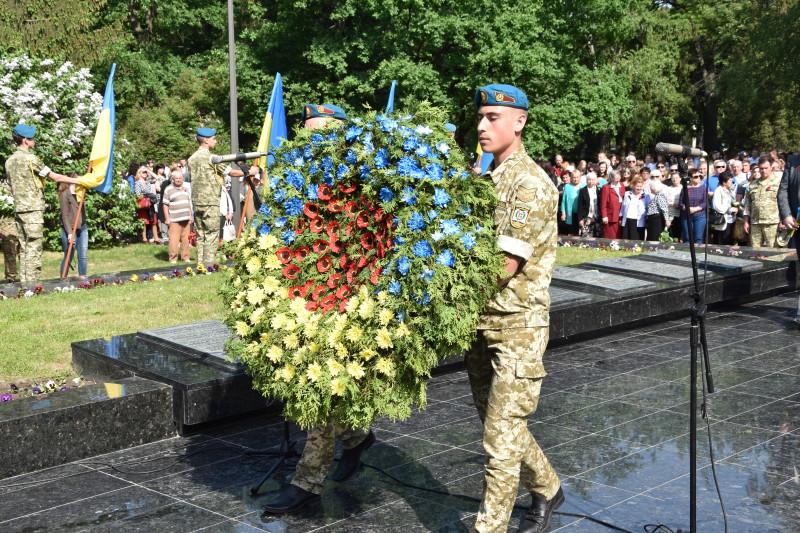 У Луцьку відзначили День пам'яті та примирення. ФОТО