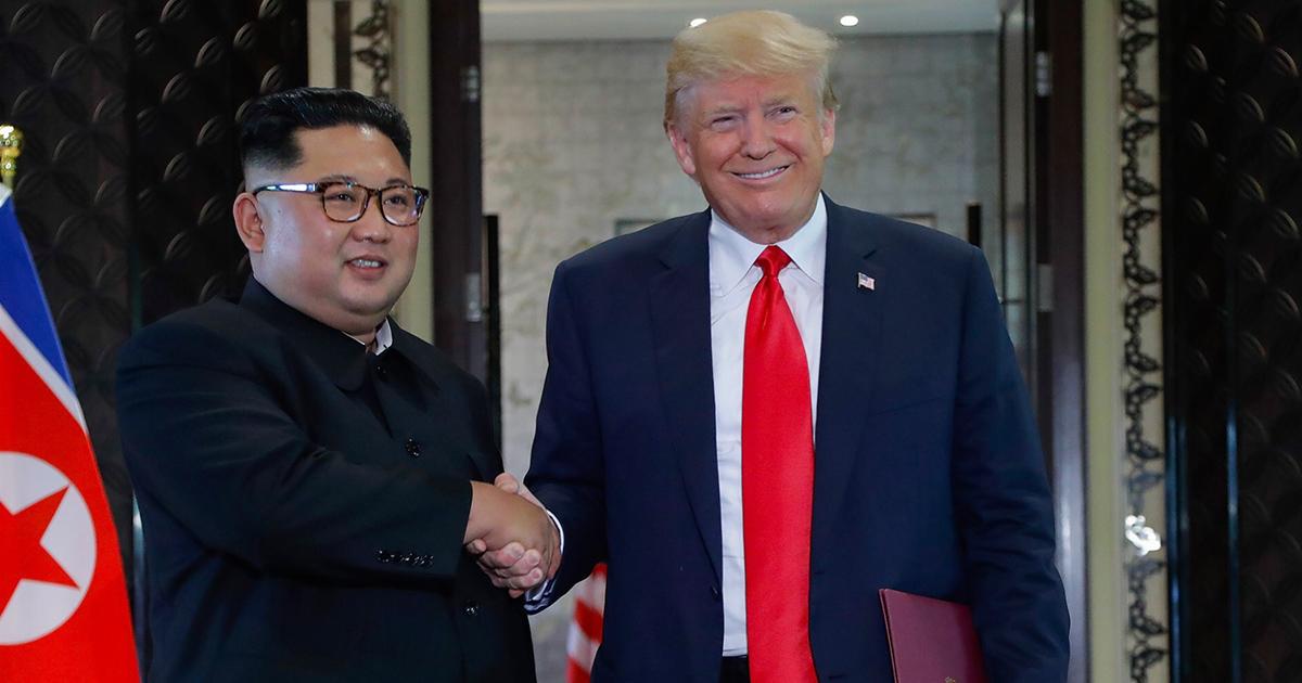 Трамп заявив, що ядерної загрози з боку КНДР більше не існує