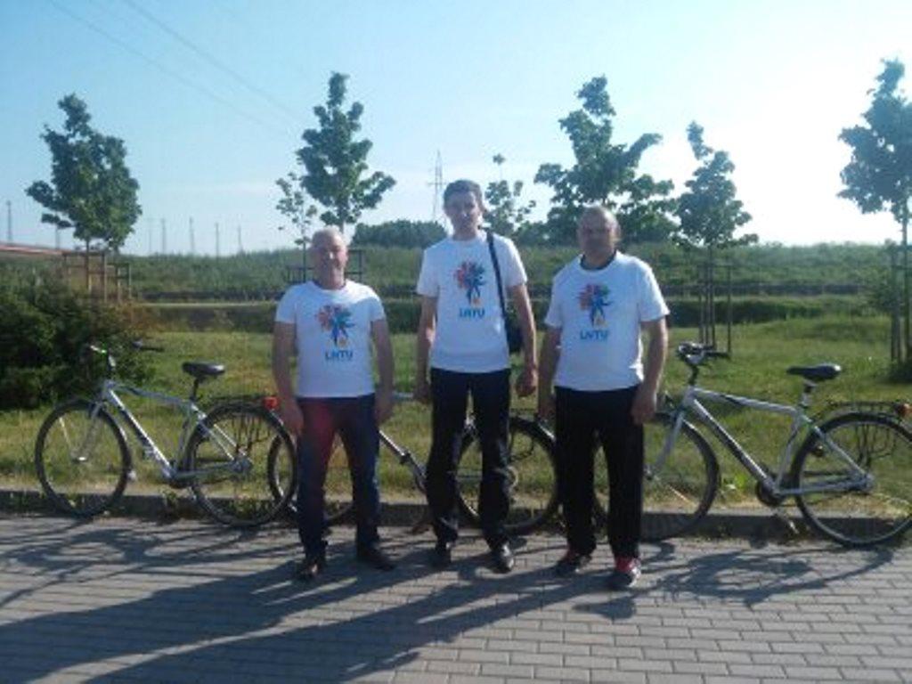 Представники луцького вишу взяли участь в проекті «Шведський велосипедний потоп»