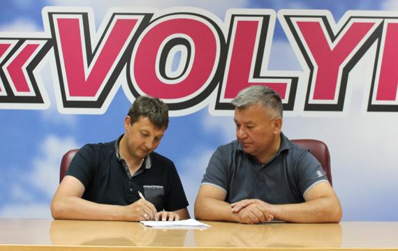 У футбольного клубу «Волинь» – новий тренер