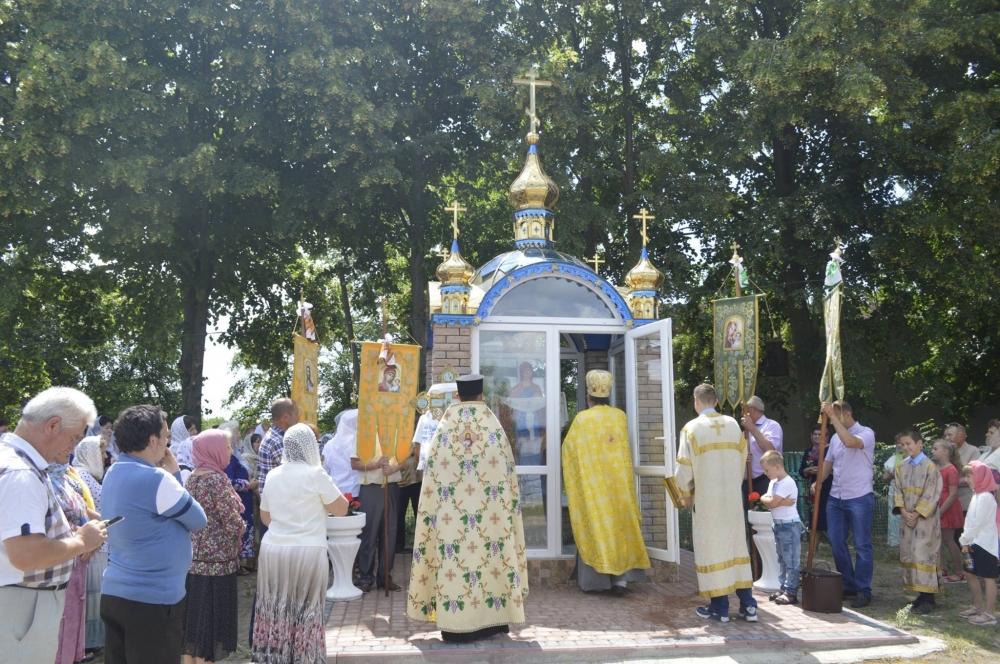 У Горохові – нова придорожня каплиця
