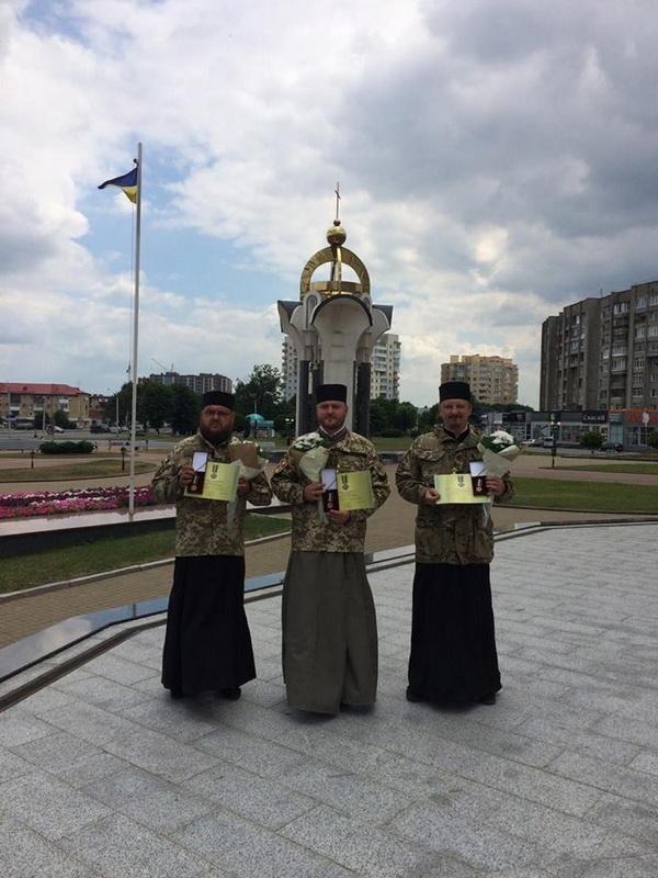 Волинські капелани отримали президентські відзнаки