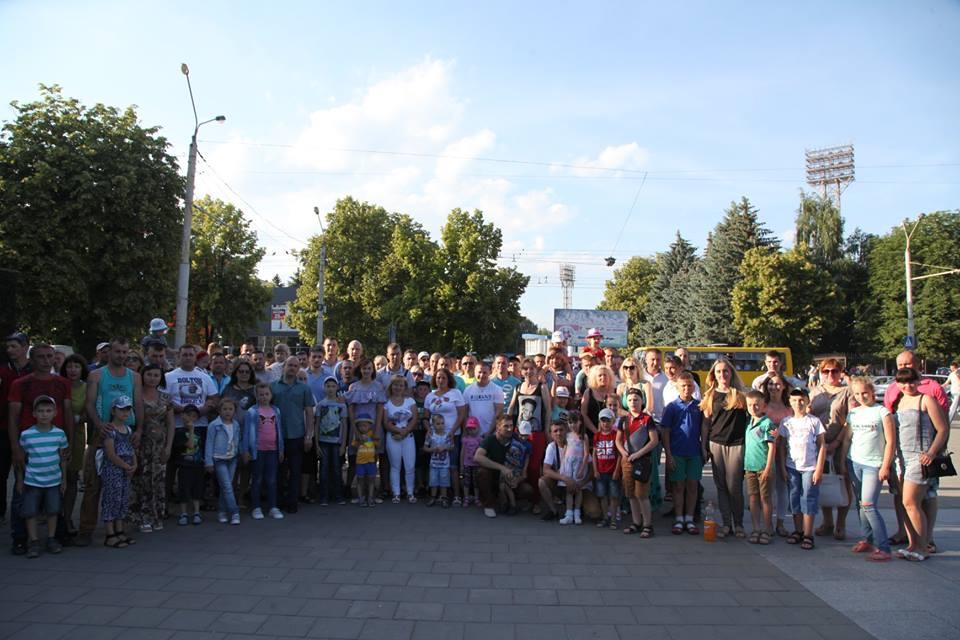 Учасники АТО з сім'ями побували на концерті «Dzidzio» у Луцьку. ФОТО