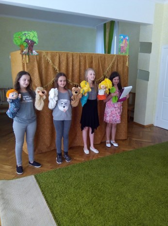 У Луцьку дошкільнятам показали лялькову виставу