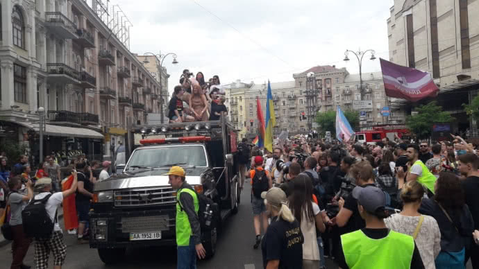 Марш рівності: кілька тисяч учасників пройшли центром Києва. ФОТО