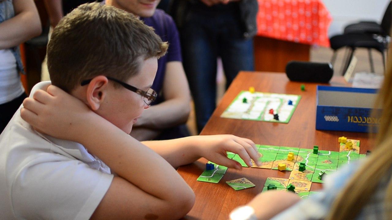 У Луцьку вперше відбувся фестиваль настільних ігор для дітей