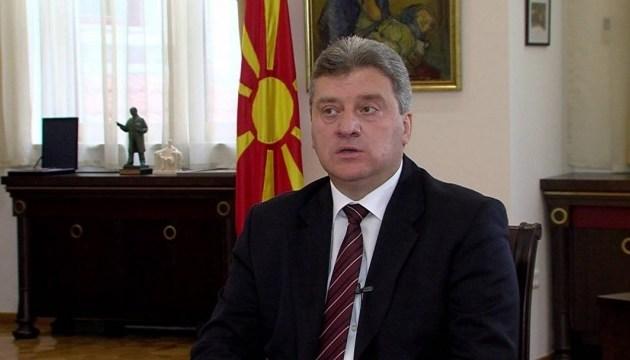 Болгарські урядовці бойкотують македонського президента