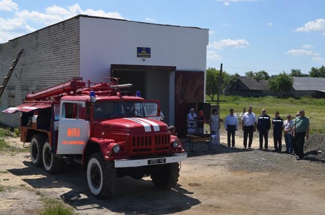 На Волині відкрили новий підрозділ місцевої пожежної охорони. ФОТО. ВІДЕО