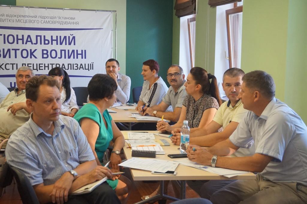 Волинські ОТГ дізналися, як управляти закладами медичної допомоги в умовах реформування системи охорони здоров'я