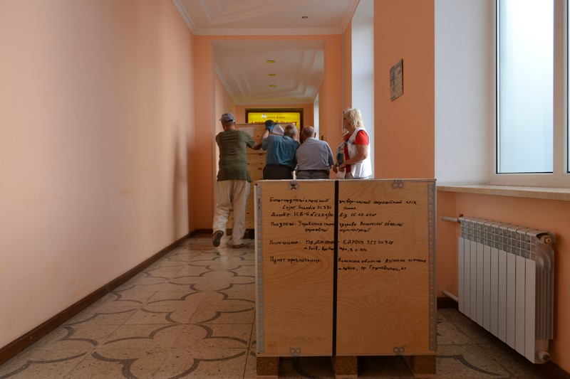 У Волинську обласну лікарню привезли обладнання від Світового банку