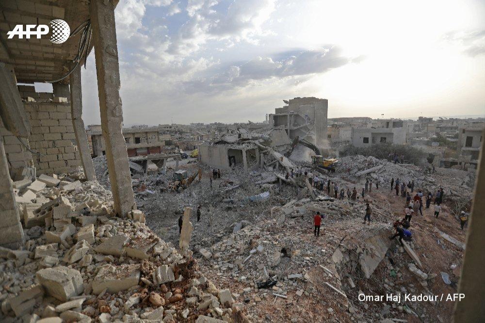 Унаслідок авіаудару у Сирії загинули щонайменше 38 людей