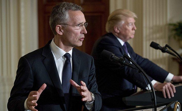 Генсек НАТО попередив про загрози для Альянсу через сварку Трампа з ЄС