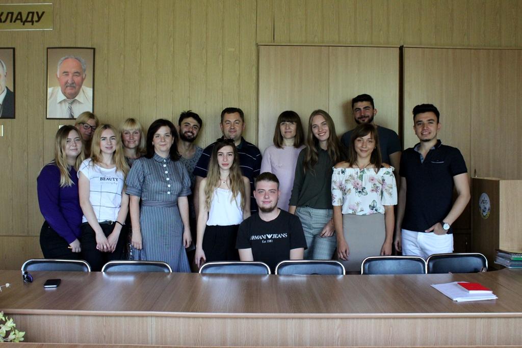 Студентам з турецького вишу вручили сертифікати про навчання у Луцькому НТУ. ФОТО