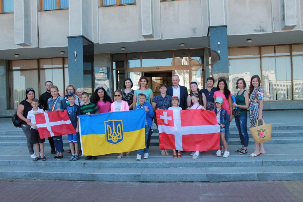 Діти учасників АТО поїхали на відпочинок в Данію