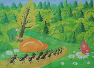 Волинські лісівники визначили переможців конкурсів малюнків. ФОТО