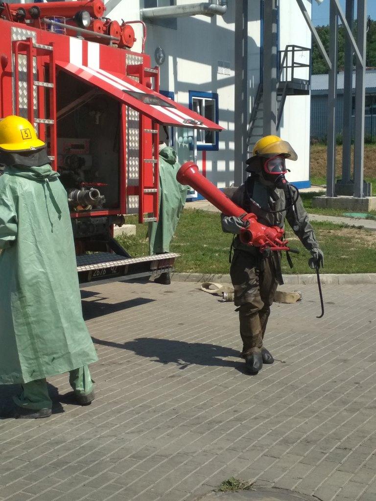 У Нововолинську пройшло командно-штабне навчання з цивільного захисту
