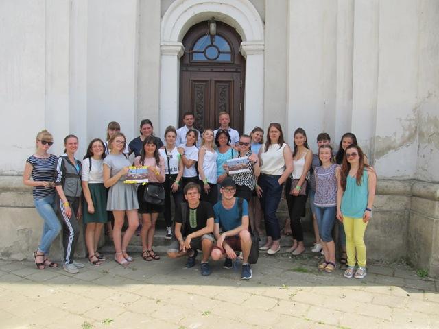 Студенти-музейники провели екскурсію-квест заповідником «Старий Луцьк». ФОТО