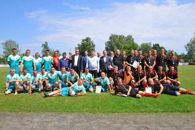 Волинські лісівники провели обласний футбольний чемпіонат. ФОТО