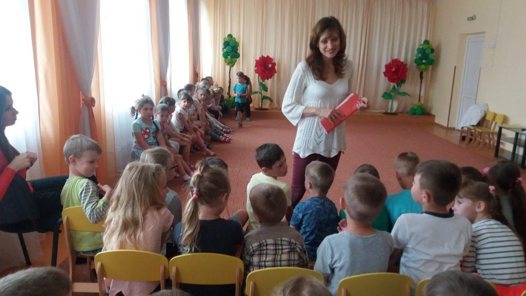 У Луцьку для дошкільнят провели профорієнтаційну гру. ФОТО