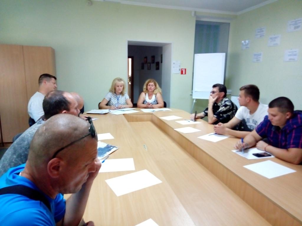 У Луцьку допомагають працевлаштуватись учасникам АТО