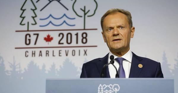 Президент Євроради Туск виступив проти повернення РФ до «Великої вісімки»