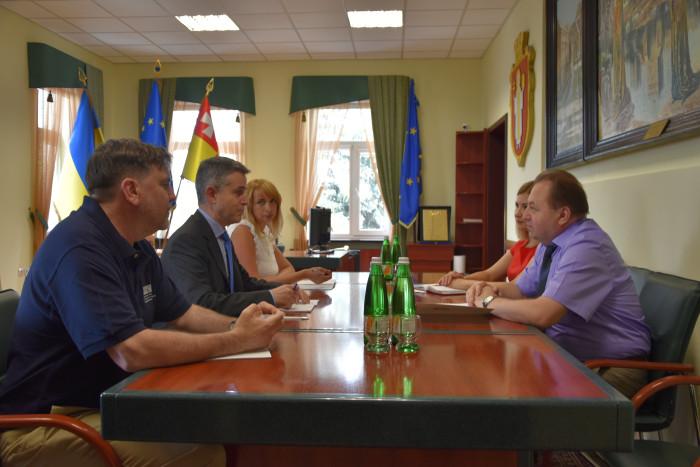 До Луцька завітали представники Спеціальної моніторингової місії ОБСЄ. ФОТО