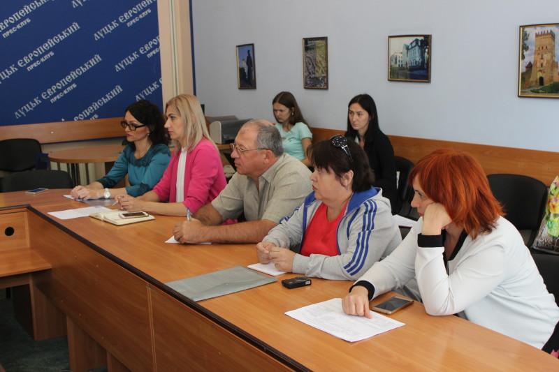 У Луцьку обговорили проблему житла для переселенців
