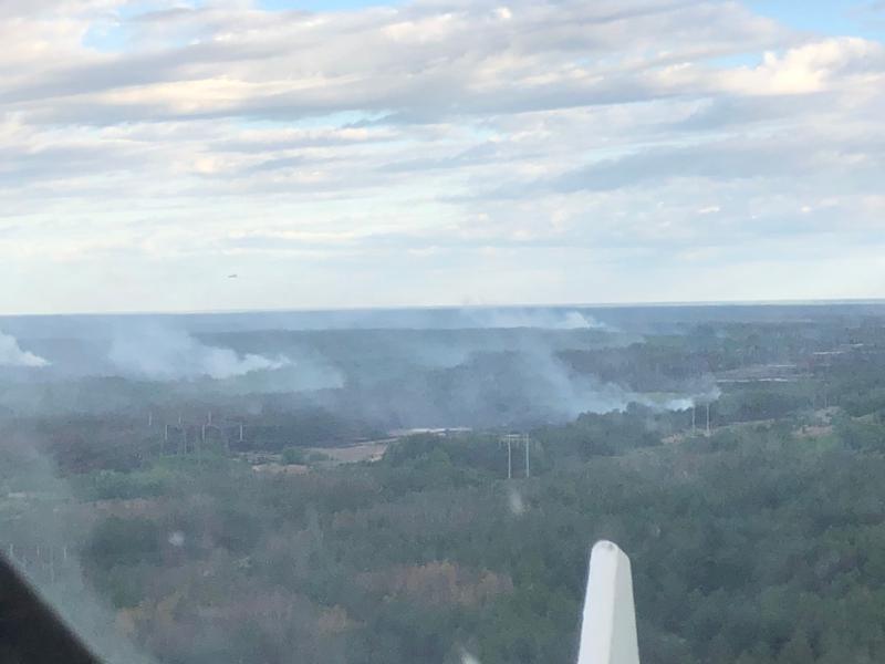 Пожежа у Чорнобильській зоні: продовжують горіти окремі осередки