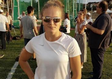 Волинянка здобула перемогу у міжнародних змаганнях з метання молота