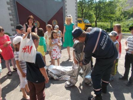 На Волині рятувальники запросили на екскурсію дошкільнят. ФОТО