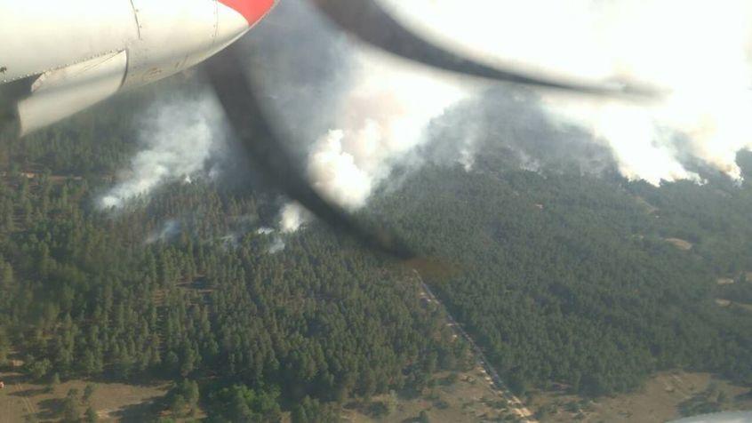 У Швеції лісові пожежі гасять за допомогою авіаційних бомб