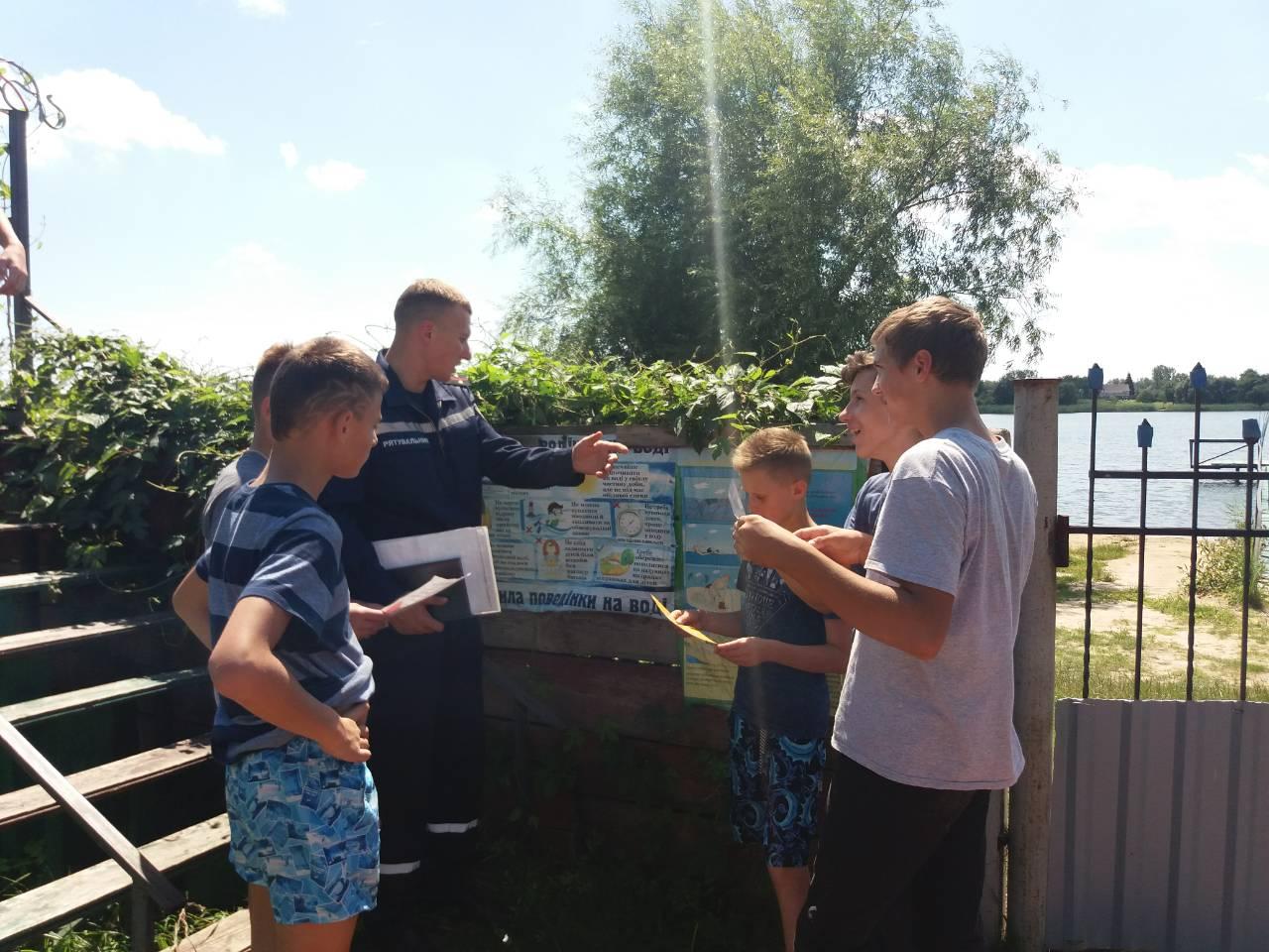 Рятувальники нагадують волинянам правила безпечного відпочинку на воді