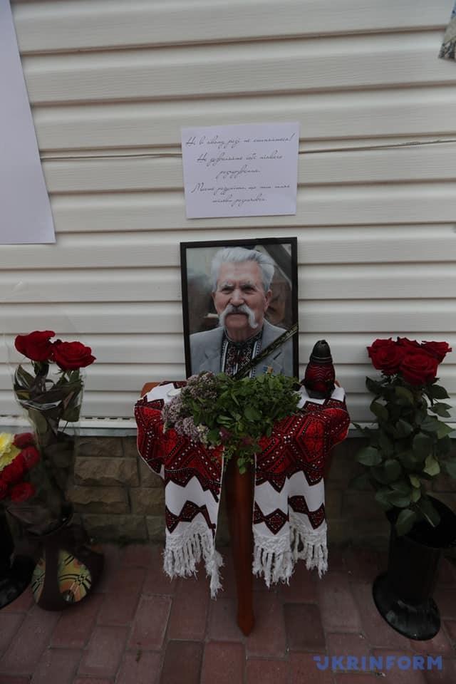 На Київщині прощаються з Левком Лук'яненком. ФОТО. ВІДЕО