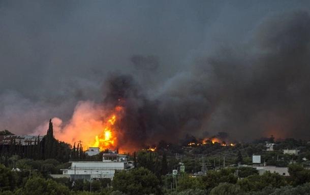 Пожежа у Греції: кількість загиблих зросла до 91