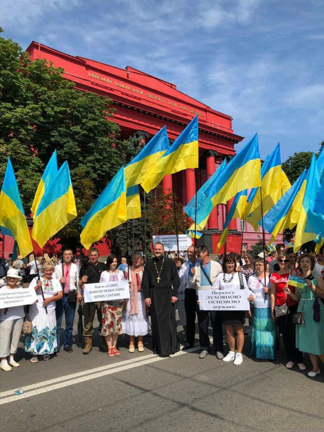 Волиняни молились за автокефальну церкву у столиці
