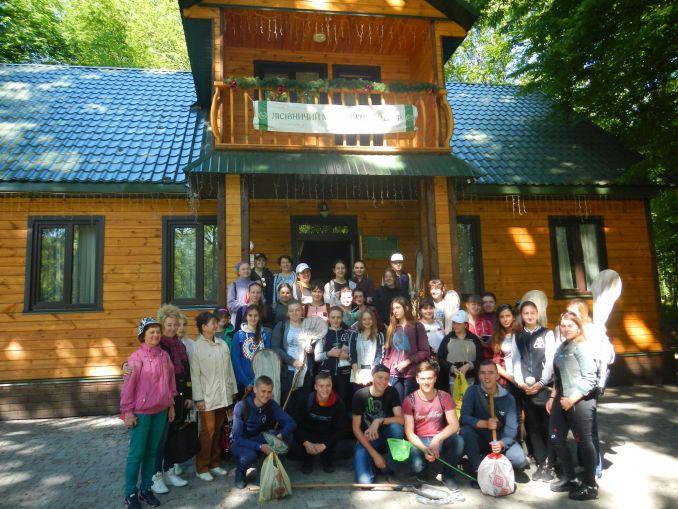 У Воротневі провели навчальну екскурсію для майбутніх лісівників. ФОТО