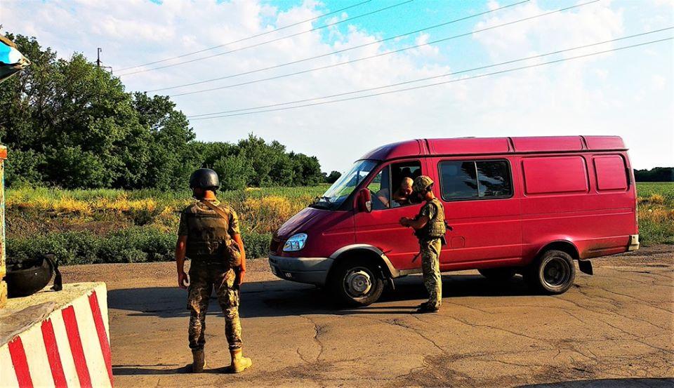Військовослужбовці зі складу Об'єднаних сил допомогли затримати небезпечного злочинця