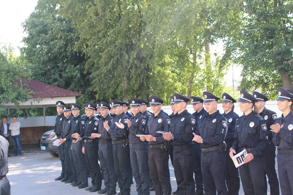 Волинські патрульні отримали чергові звання. ФОТО