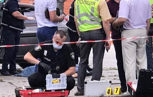 У Києві застрелили поліцейського
