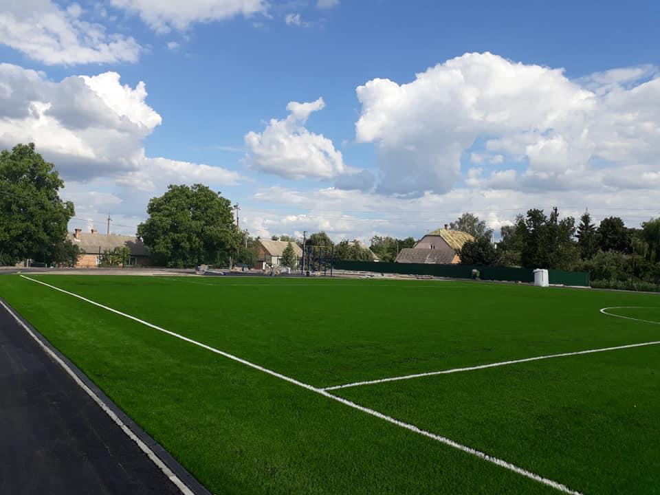 У селі на Волині відкриють стадіон майже за сім мільйонів гривень. ФОТО