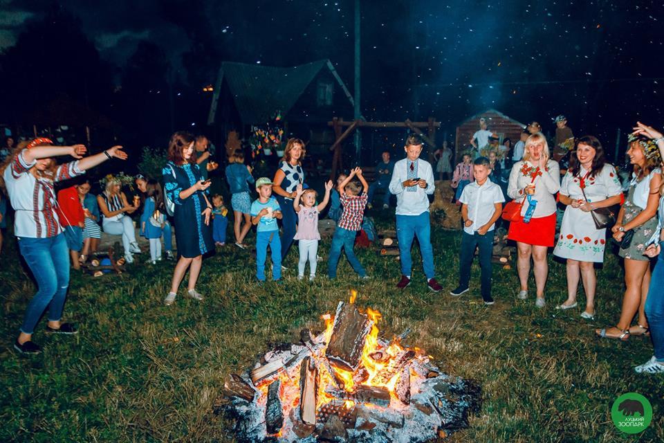 Як відсвяткували купальську ніч у Луцькому зоопарку. ФОТО