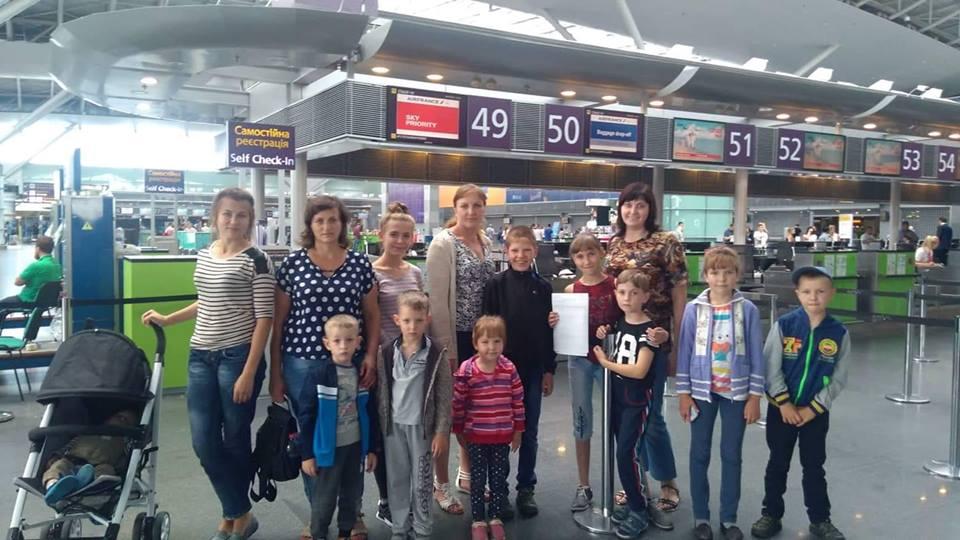 Волинські сім'ї з родин Небесного Легіону відправились на відпочинок до Болгарії